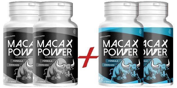 Maca X Power 4 frascos