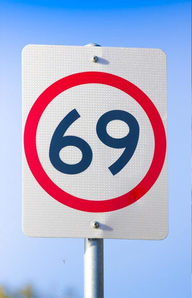 Dura mais tempo durante 69